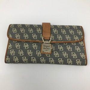 Dooney Bourke Long Signature Wallet